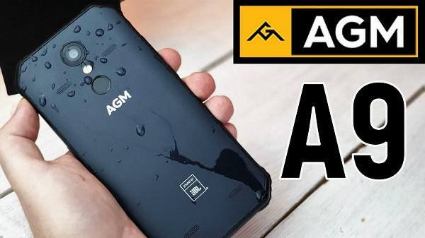 AGM A9 4GB RAM 32GB ROM с IP68 MIL-STD-810G защита за
